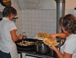 Traditionelle Krapfen bachen